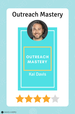 Outreach mastery course review