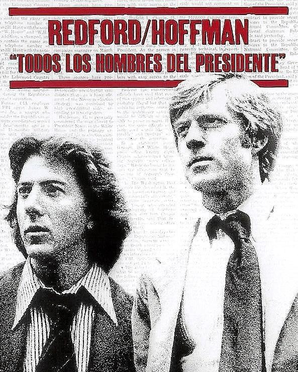 Todos los hombres del presidente (1976, Alan J. Pakula)