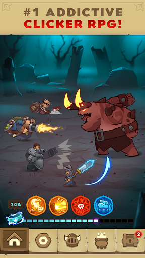 Almost a Hero - RPG Clicker Game with Upgrades- screenshot thumbnail