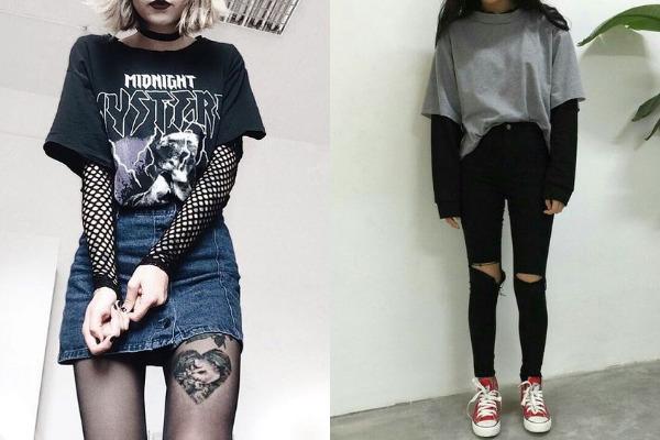 Обувь в стиле гранж или в архетипе бунтаря