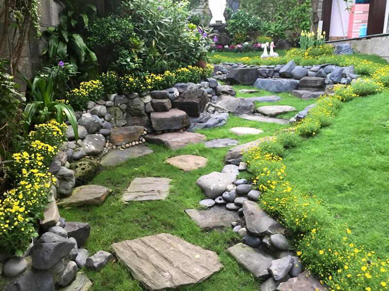 Gợi ý thiết kế vườn theo phong cách Châu Âu đẹp hoàn hảo