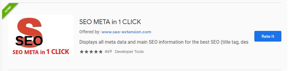 seometa in 1 click extension