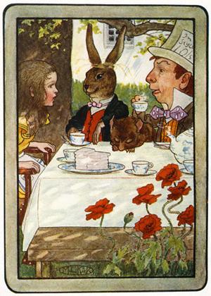 Чай - это Алиса, Алиса -это чай!