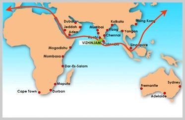 Image result for vizhinjam international multipurpose deepwater seaport