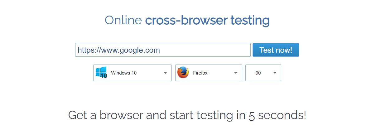 Cross-browser Testing with Browserling Review