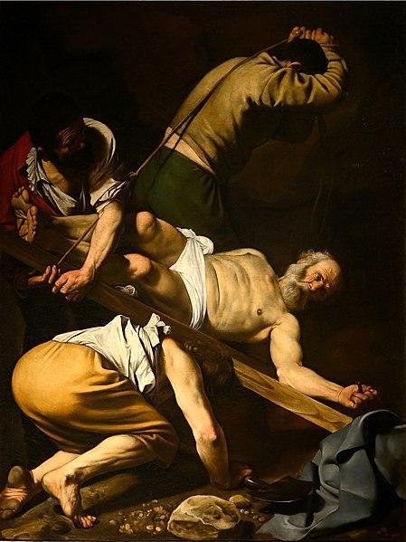 https://upload.wikimedia.org/wikipedia/commons/thumb/1/18/Martirio_di_San_Pietro_September_2015-1a.jpg/449px-Martirio_di_San_Pietro_September_2015-1a.jpg