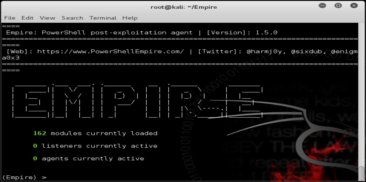 Powershell Empire Stagers 1: Phishing with an Office Macro and