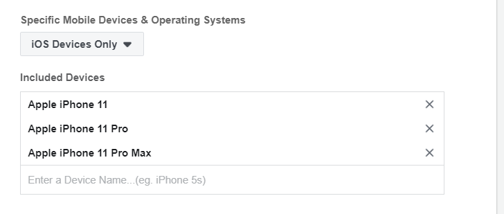 Facebook Ads Vietnam Apple