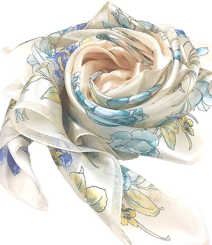 日本製 シルクスカーフ
