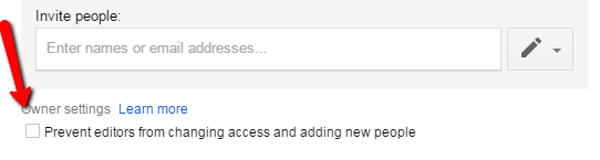 Google Docs Prevent Editors from Changing Access
