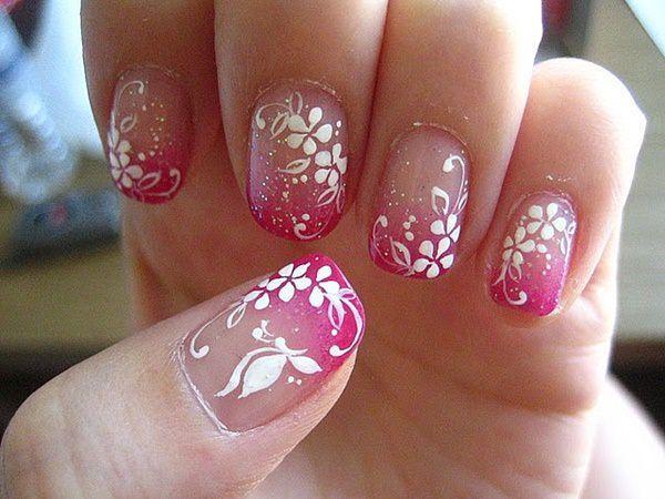 cute nail designs creem (4)