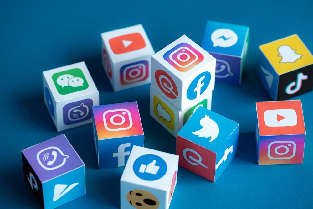 Illustration des différents réseaux sociaux existants