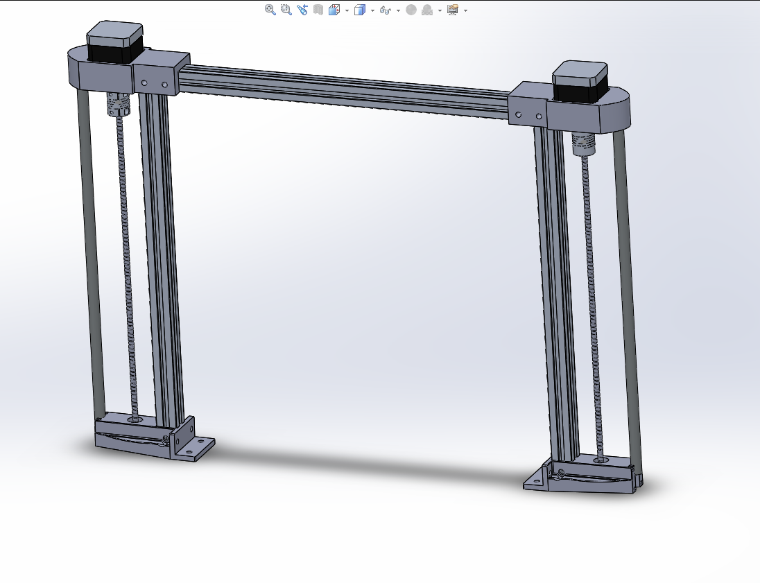 solidworks gantry assembly.png