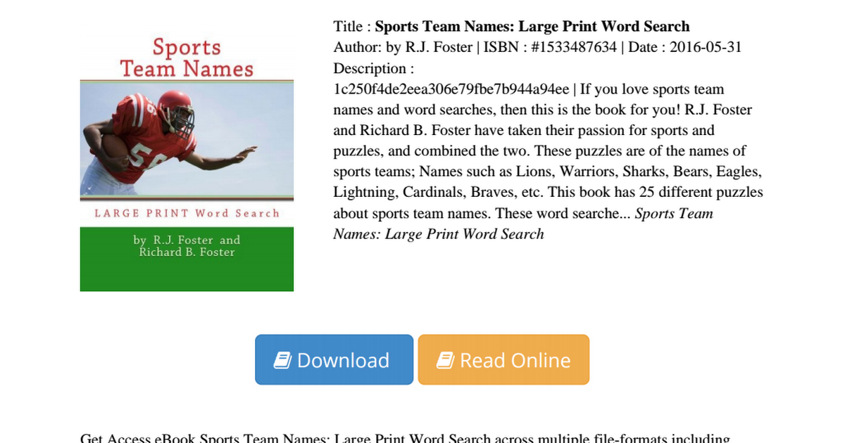 sticks and stones and sports team names essay Equipment: sticks, five inches long, one for each player and a fist sized ball or stone for each player play: the players are divided into two sides, facing a goal some thirty feet away.