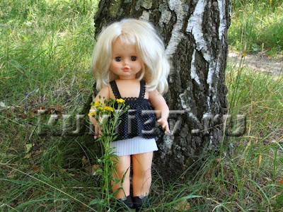 летний топ для куклы