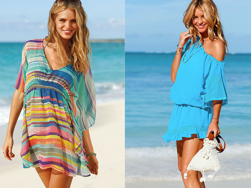 как правильно носить парео на пляже