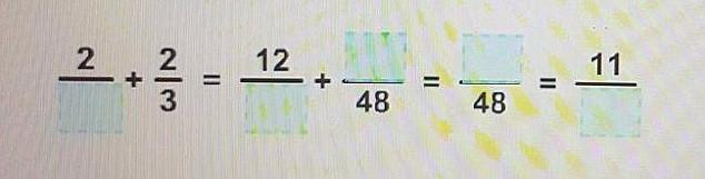 Hãy hoàn thiện các đẳng thức này bằng cách chọn số phù hợp.