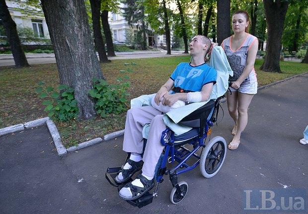Олександр Петраківский з сестрою Світланою