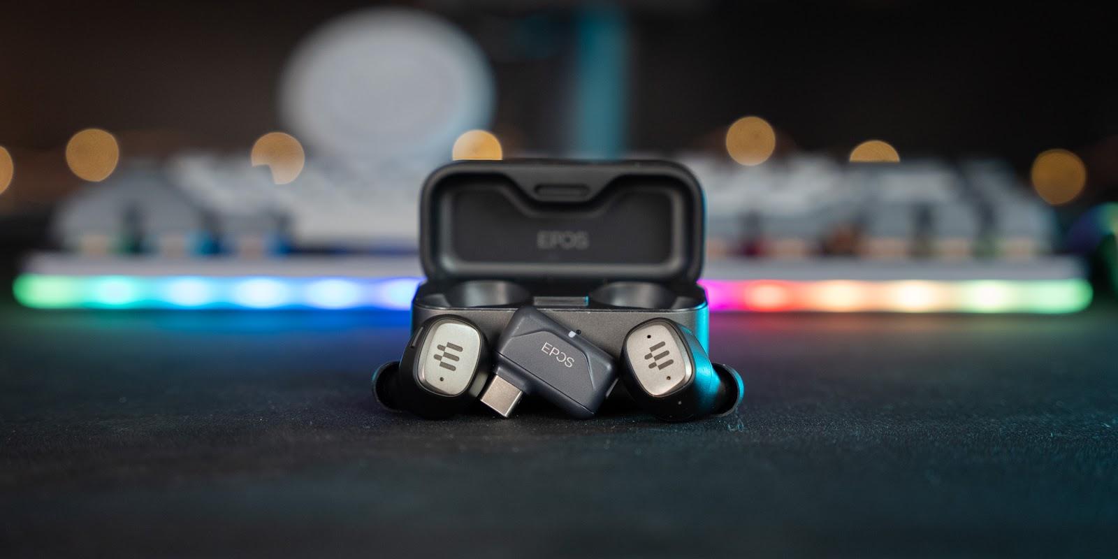 หูฟังไร้สายเสียงดีจาก EPOS GTW 270 True Wireless 3