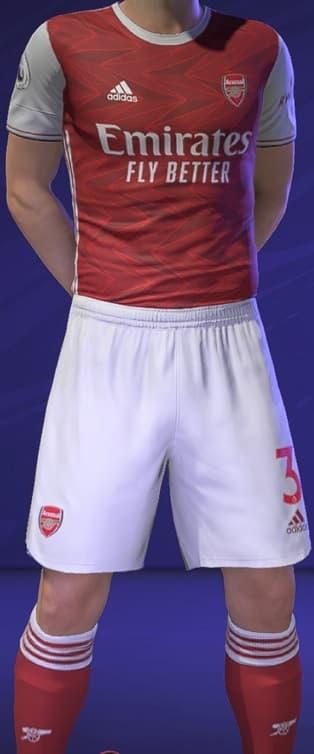 FIFA 21 Arsenal Home kit