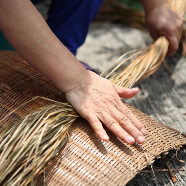 品品學堂-藺編小漁網提袋編織體驗