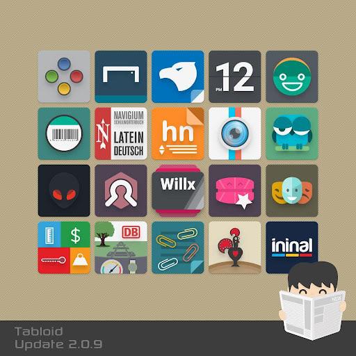 Tabloid Icon- screenshot thumbnail