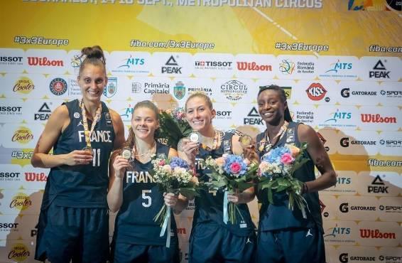 """La Neversoise Mamignan Touré, championne d'Europe de basket 3x3 : """"On a  envoyé le message qu'on est là pour un moment"""" - Nevers (58000)"""