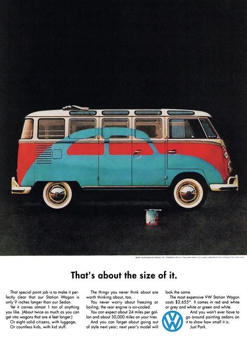 Volkswagen copywriter