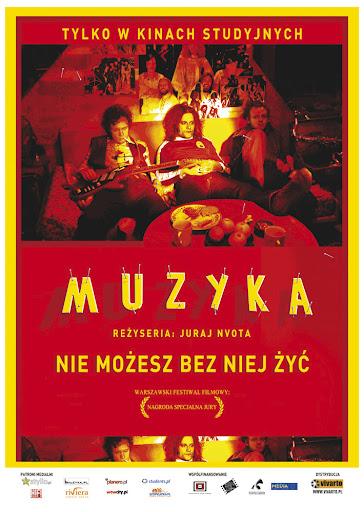 Polski plakat filmu 'Muzyka'