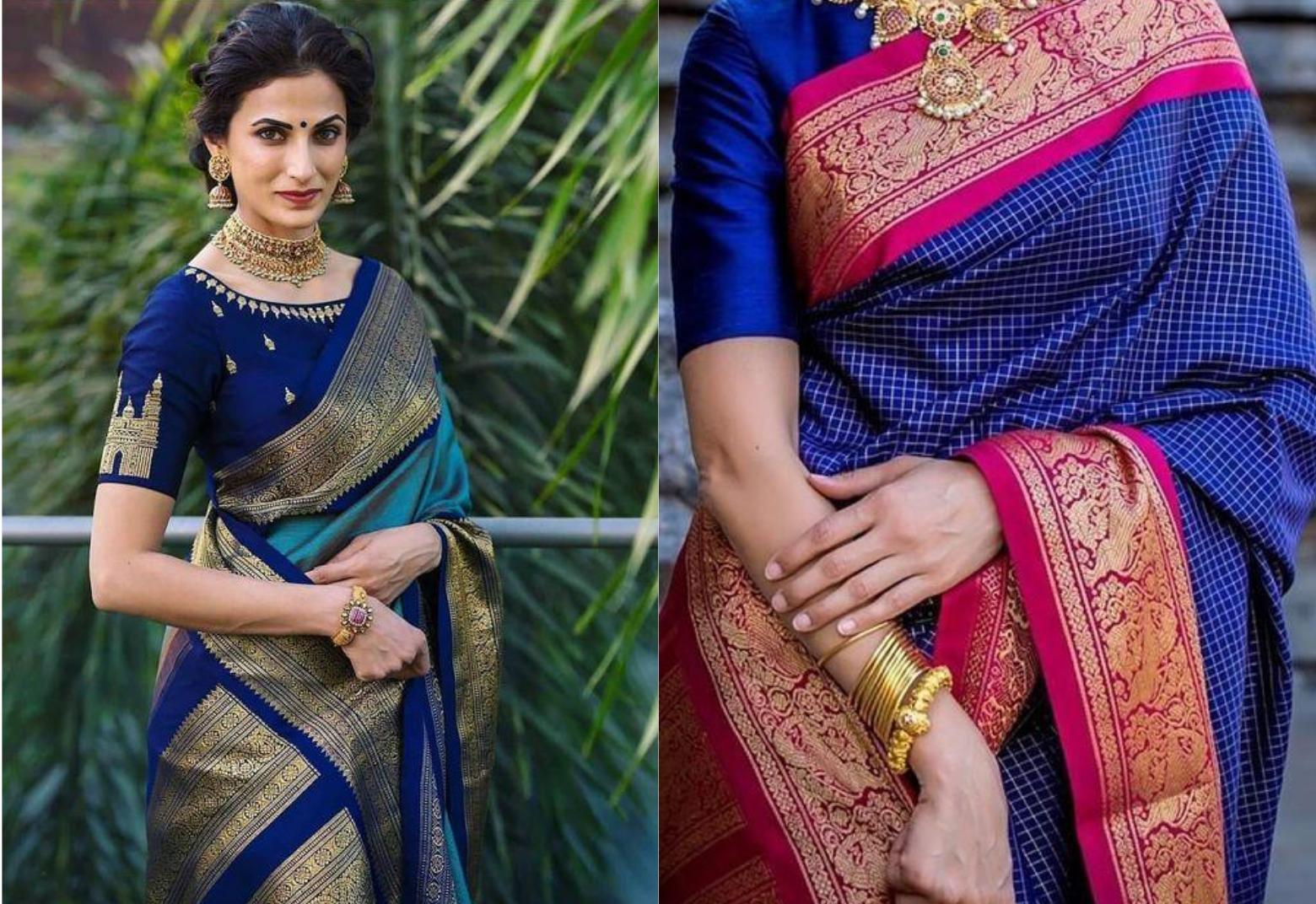 south indian wedding saris best