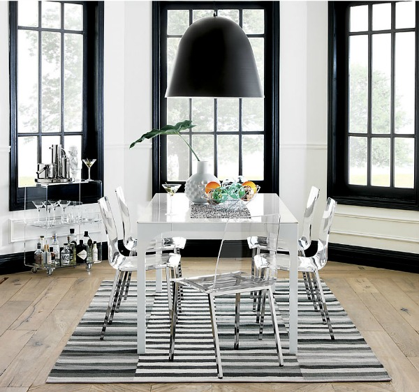 kitchen interior design trends spring 2020 with ghost chairs
