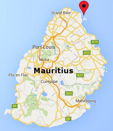 L'ilot Bernache, Mauritius