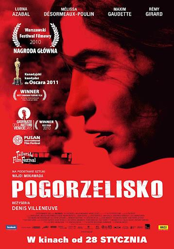 Polski plakat filmu 'Pogorzelisko'