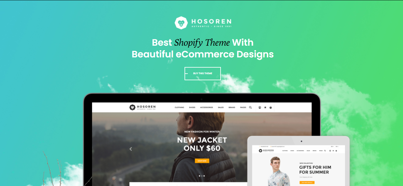 Hosoren - Shopify beauty theme