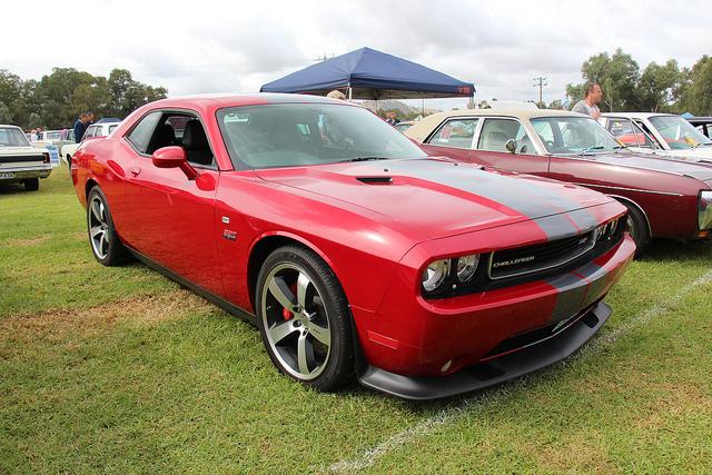 Car for sale at a car auction