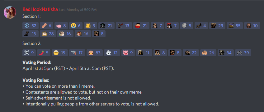Discord Server April Contest Update: Winners! – Darkest Dungeon