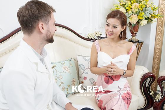 Giá giảm béo tại thẩm mỹ viện Korea