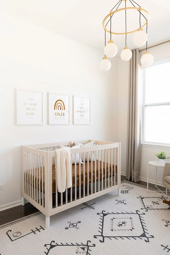 Minimalist Style Baby Boy Bedroom Ideas