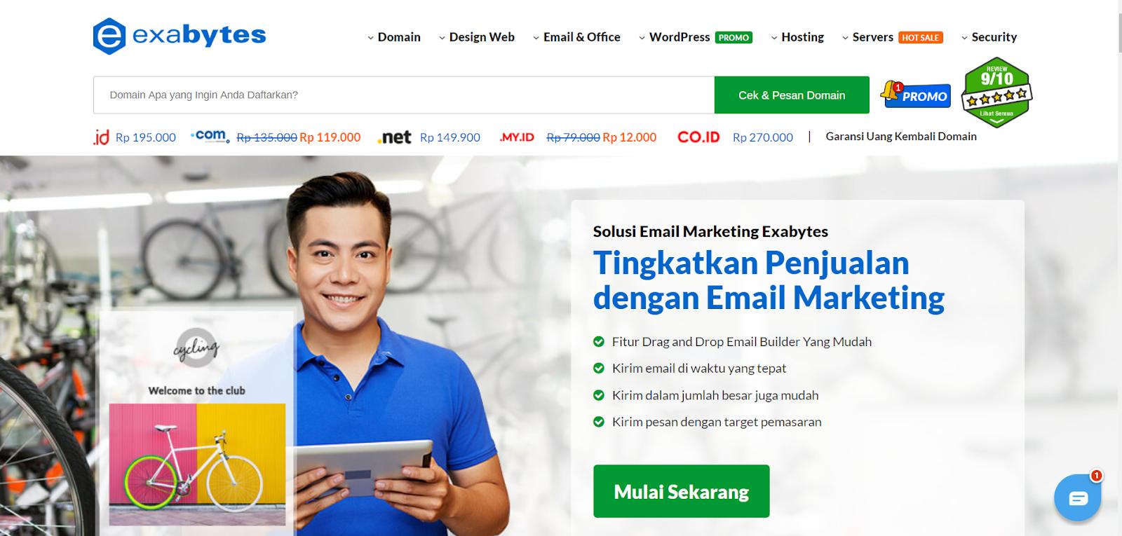 Memperkenalkan EBuzzzz Email Marketing Terbaru & Terbaik dari Exabytes - 2021