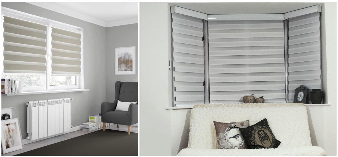 cortinas noche y día para salón