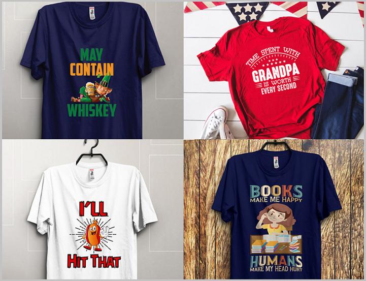 13. Customize T-shirt Design