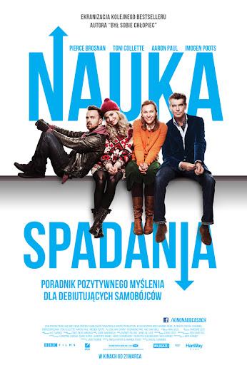 Polski plakat filmu 'Nauka Spadania'