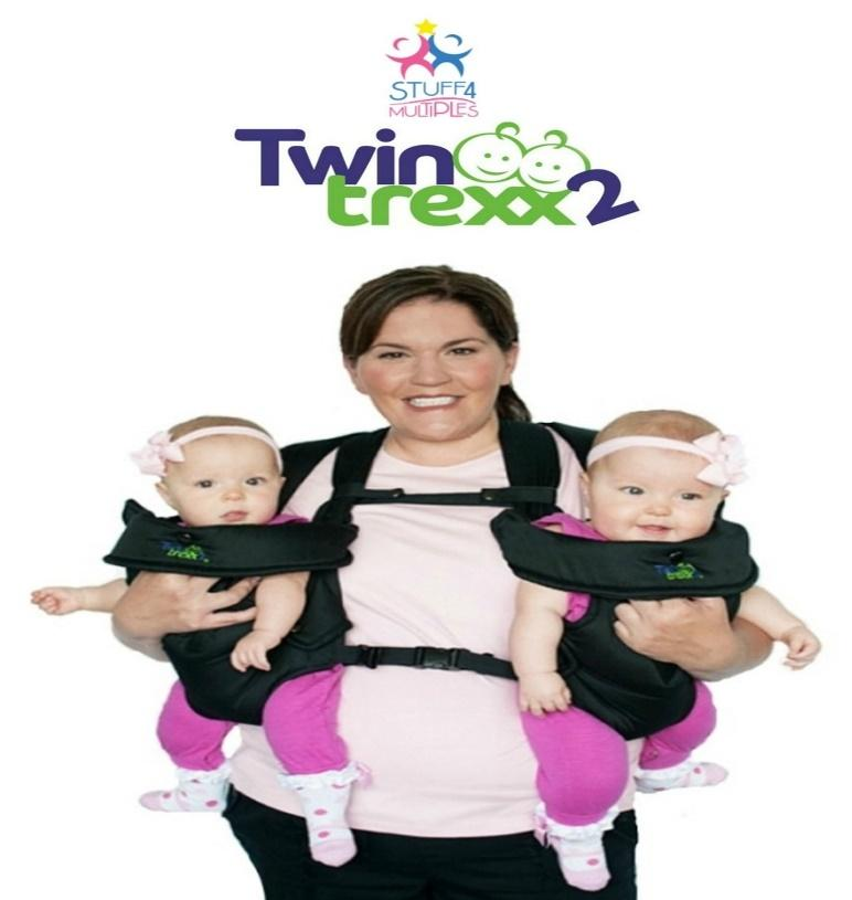 TwinTrexx 2 Twin Infant Carrier