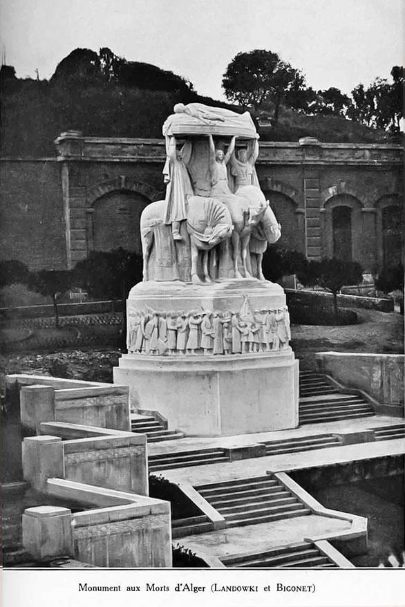 Monument aux morts d'Alger