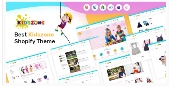excellent Kids Shopify theme