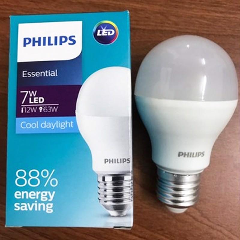 Bóng đèn Led bulb Essential Philips tiết kiệm 88% giá siêu ưu đãi