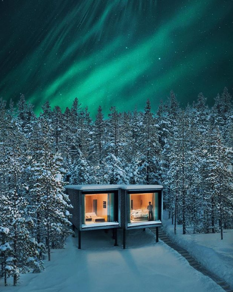 Innovative hotels for breathtaking experience in Finland