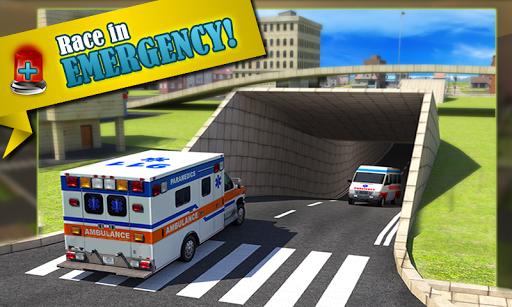 Ambulance Rescue Simulator 3D- screenshot thumbnail