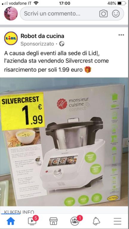 No Lidl Non Sta Vendendo Il Suo Robot Da Cucina A Pochi Euro Facta