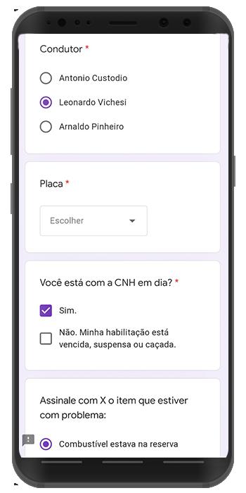 apps grátis de checklist veicular